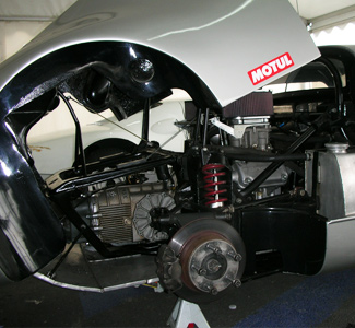 Porsche Race Car Preparation